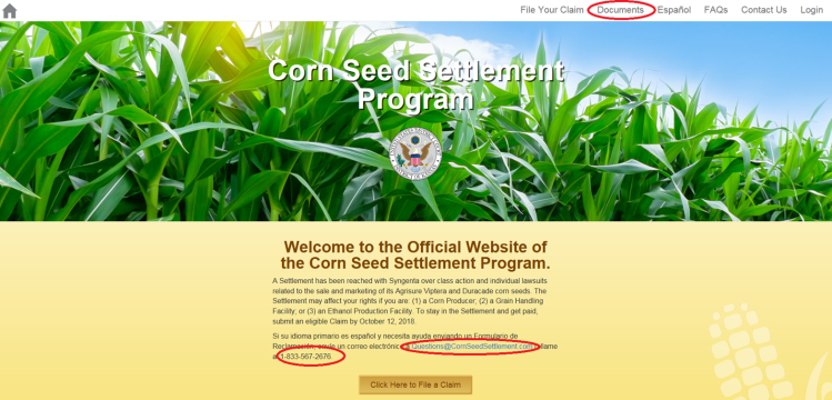 cornseedsettlement